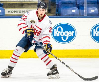 NAHL: Springfield Defenseman Muzzillo Makes NCAA DI Commitment