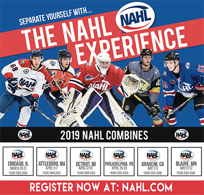 Nahl Combines Begin In One Month North American Hockey League Nahl