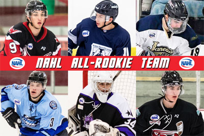 Nahl Announces 2017 18 All Rookie Teams North American Hockey