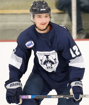 NAHL: Knights Forward Morrissey Makes NCAA Commitment