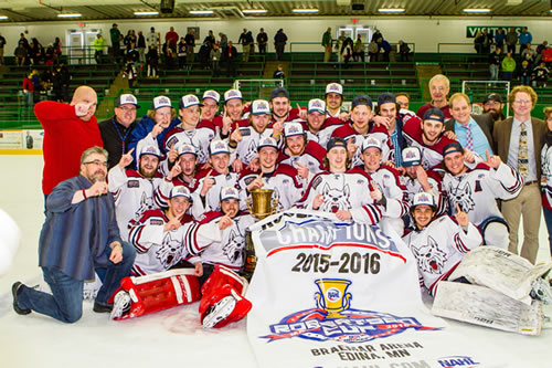 2016 NAHL Robertson Cup Champions - Fairbanks Ice Dogs