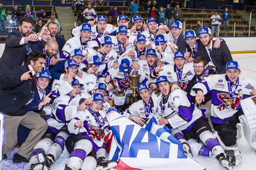 2018 NAHL Robertson Cup Champions - Shreveport Mudbugs