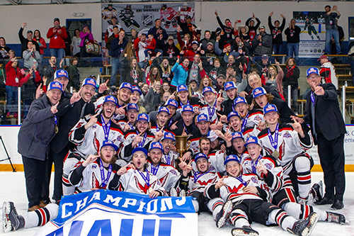 2019 NAHL Robertson Cup Champions - Aberdeen Wings